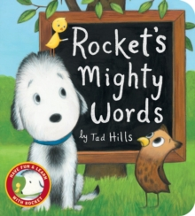 Rocket's Mighty Words, Board book Book