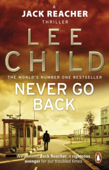 Never Go Back : (Jack Reacher 18), Paperback Book