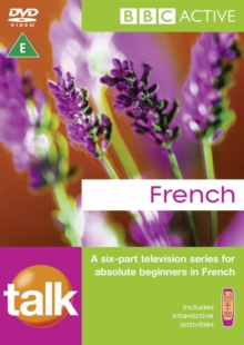 TALK FRENCH DVD, Mixed media product Book