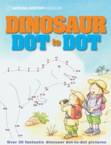 Natural History Museum Dinosaur Dot-to-dot, Paperback Book