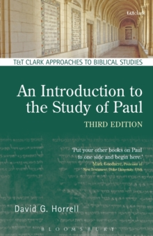 An Introduction to the Study of Paul, Paperback Book