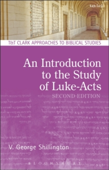 An Introduction to the Study of Luke-Acts, Paperback Book
