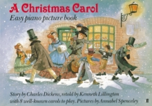"""Christmas Carol"" Easy Piano Picture Book, Paperback Book"