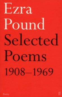 Selected Poems 1908-1969, Paperback Book