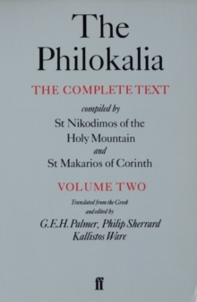 The Philokalia Vol 2, Paperback / softback Book