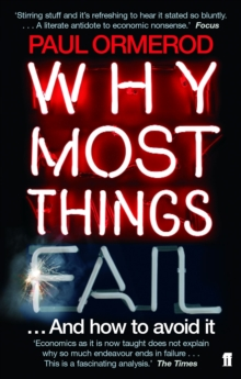 Why Most Things Fail, Paperback / softback Book