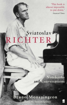 Sviatoslav Richter : Notebooks and Conversations, Paperback / softback Book
