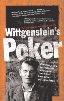 Wittgenstein's Poker, Paperback / softback Book