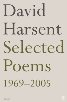 Selected Poems David Harsent, Paperback / softback Book