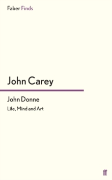 John Donne : Life, Mind and Art, EPUB eBook