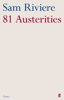 81 Austerities, Paperback / softback Book