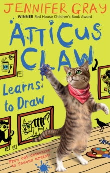Atticus Claw Learns to Draw, Paperback Book