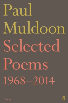 Selected Poems 1968-2014, Paperback / softback Book