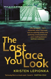 The Last Place You Look, Paperback Book