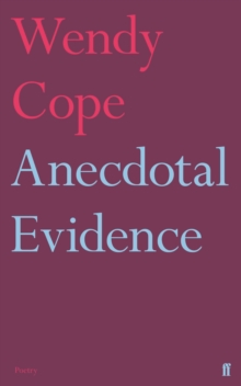 Anecdotal Evidence, Paperback Book