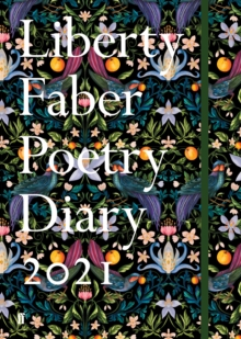 Liberty Faber Poetry Diary 2021, Hardback Book