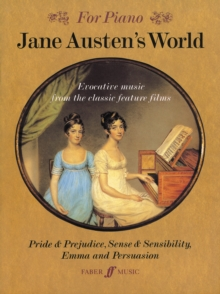 Jane Austen's World : (Piano), Paperback Book