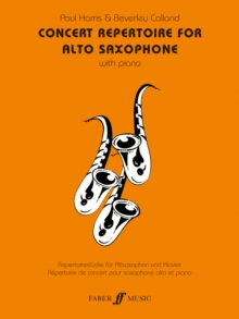 Concert Repertoire : (Alto Saxophone and Piano), Paperback Book