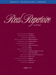 Real Repertoire for Piano, Sheet music Book