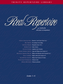 Real Repertoire for Violin, Sheet music Book
