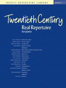Twentieth Century Real Repertoire, Sheet music Book