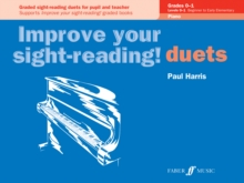 Improve your sight-reading! Piano Duets Grades 0-1, Paperback / softback Book
