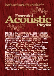 Essential Acoustic Playlist : (Guitar), Paperback Book