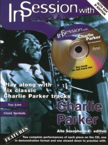 In Session With Charlie Parker, Mixed media product Book