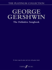George Gershwin Platinum Collection, Paperback / softback Book