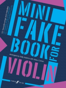 Mini Fake Book for Violin, Sheet music Book
