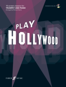 Play Hollywood (Trumpet), Mixed media product Book