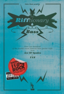 The Bass Rifftionary, Paperback Book