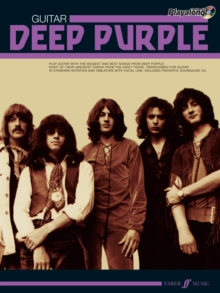 Deep Purple Authentic Guitar Playalong, Mixed media product Book