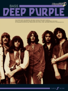 Deep Purple Authentic Bass Playalong, Mixed media product Book