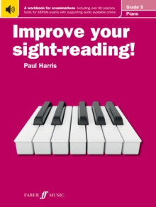 Improve your sight-reading! Piano Grade 5, Paperback / softback Book