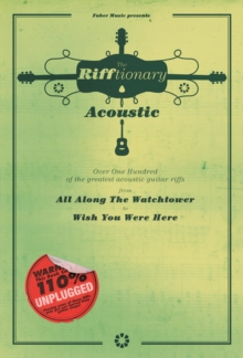 The Rifftionary Acoustic Guitar : (Chord Songbook), Paperback Book