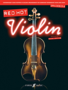 Red Hot Violin Grades 3-4, Paperback / softback Book