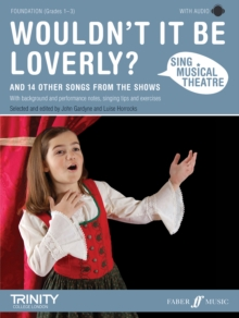 Sing Musical Theatre: Wouldn't It Be Loverly?, Mixed media product Book