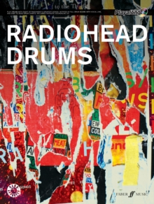 Radiohead Authentic Drums Playalong : Drum Chart with Audio CD, Mixed media product Book