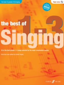 The Best Of Singing Grades 1 - 3 (High Voice), Mixed media product Book