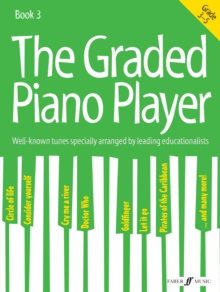 The Graded Piano Player: Grades 3-5, Sheet music Book