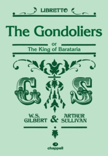 The Gondoliers (Libretto), Sheet music Book
