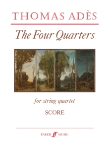 The Four Quarters (String Quartet/Score Only), Sheet music Book