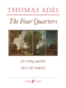 The Four Quarters (String Quartet/Parts Only), Sheet music Book