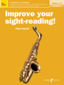 Improve your sight-reading! Saxophone Grades 1-5, Sheet music Book