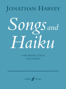 Songs and Haiku, Sheet music Book