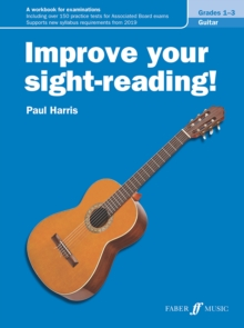 Improve Your Sight-Reading! Guitar Grades 1-3, Book Book