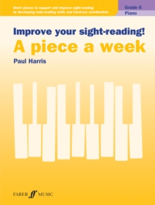 IMPROVE YOUR SIGHTREADING A PIECE A WEEK, Paperback Book