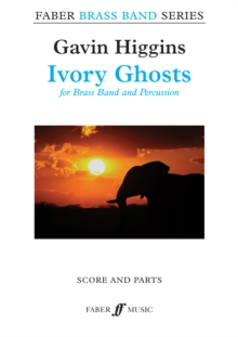 Ivory Ghosts (Brass Band Score & Parts), Sheet music Book