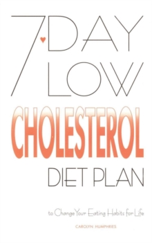 7-day Low Cholesterol Diet Plan, Paperback / softback Book